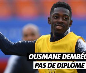Ousmane Dembélé n'a pas de diplôme