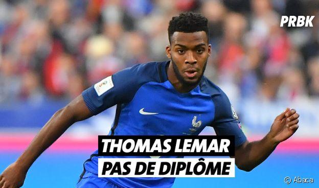 Thomas Lemar n'a pas de diplôme