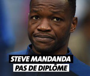 Steve Mandanda n'a pas de diplôme