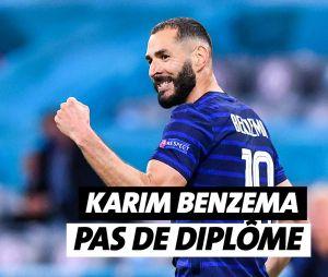 Karim Benzema n'a pas de diplôme