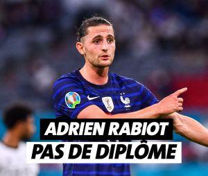 Adrien Rabiot n'a pas de diplôme