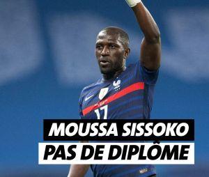 Moussa Sissoko n'a pas de diplôme