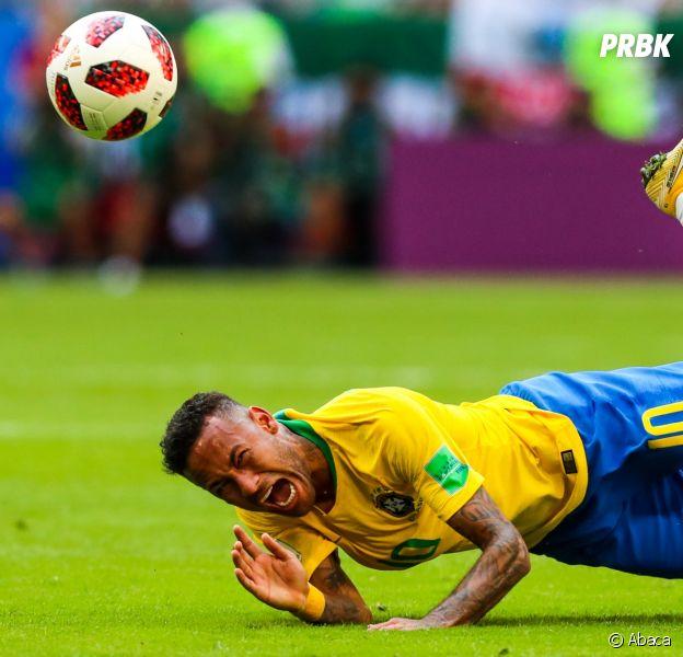 Neymar au coeur de détournements après Brésil - Mexique en Coupe du Monde