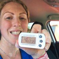 Canicule : une femme s'enferme dans une voiture pour alerter les propriétaires de chiens