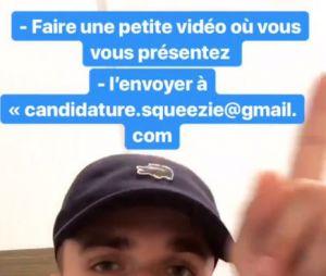 Squeezie va peut-être venir chez vous : envoyez-lui une vidéo pour rencontrer le Youtubeur !