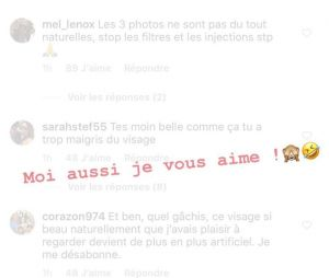 Caroline Receveur répond aux haters sur Instagram