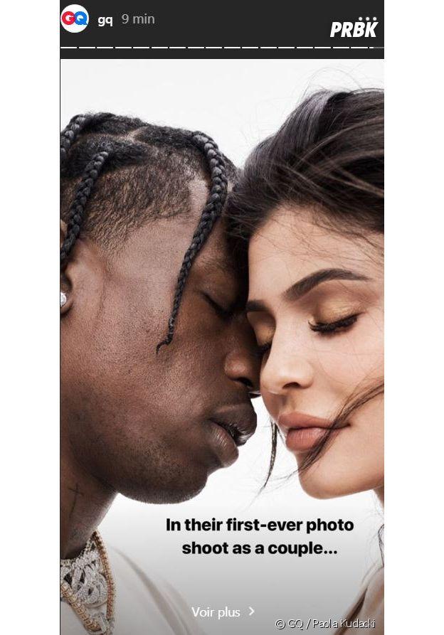 Kylie Jenner et Travis Scott : les parents de Stormi posent pour la première fois en couple pour un shooting !