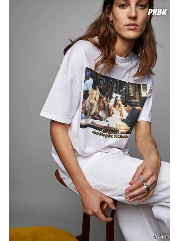 Zara sort deux tee-shirts à l'effigie de la série Friends !