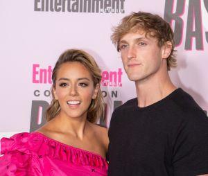 Logan Paul et sa petite amie Chloe Bennet au Comic-Con le 22 juillet 2018