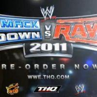 Smackdown Vs Raw 2011 ... Une bande annonce musclée