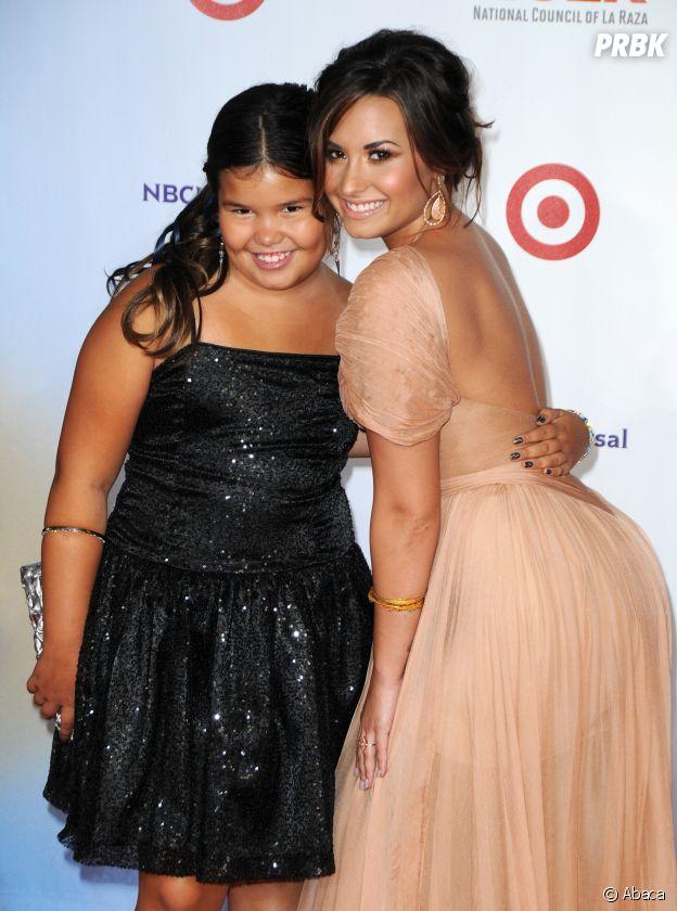 Ces frères et soeurs qui sont acteurs : Demi Lovato et Madison De la Garza
