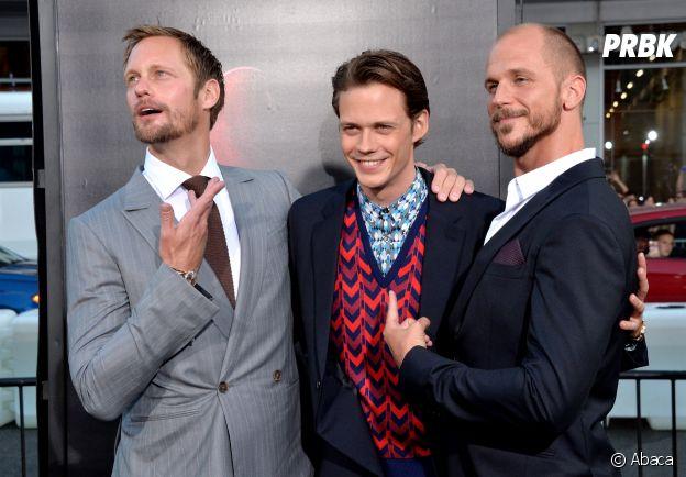Ces frères et soeurs qui sont acteurs : Alexander, Bill et Gustaf Skarsgard