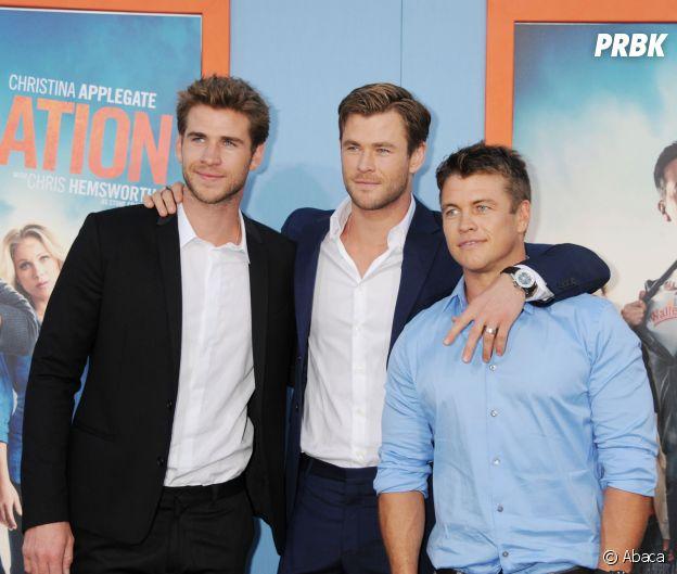 Ces frères et soeurs qui sont acteurs : Liam, Chris et Luke Hemsworth
