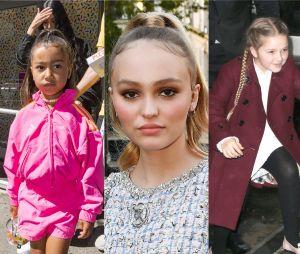 North West, Lily-Rose Depp, Harper Beckham... Ces enfants de stars ont bien changé !