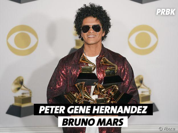 Le vrai nom de Bruno Mars