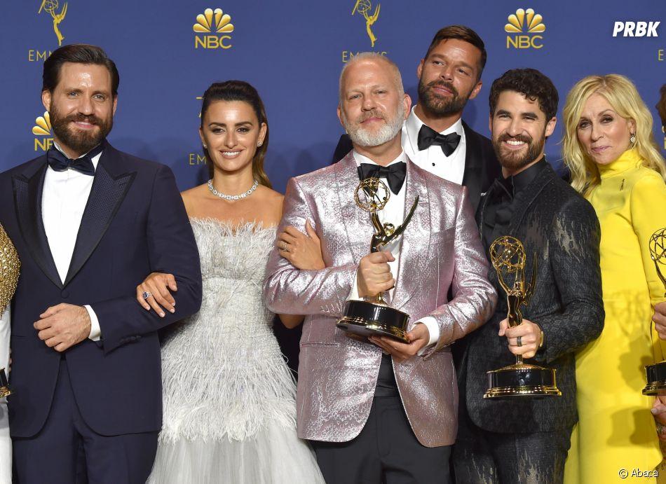 The Assasination of Gianni Versace : American Crime Story gagnant aux Emmy Awards 2018 le 17 septembre à Los Angeles
