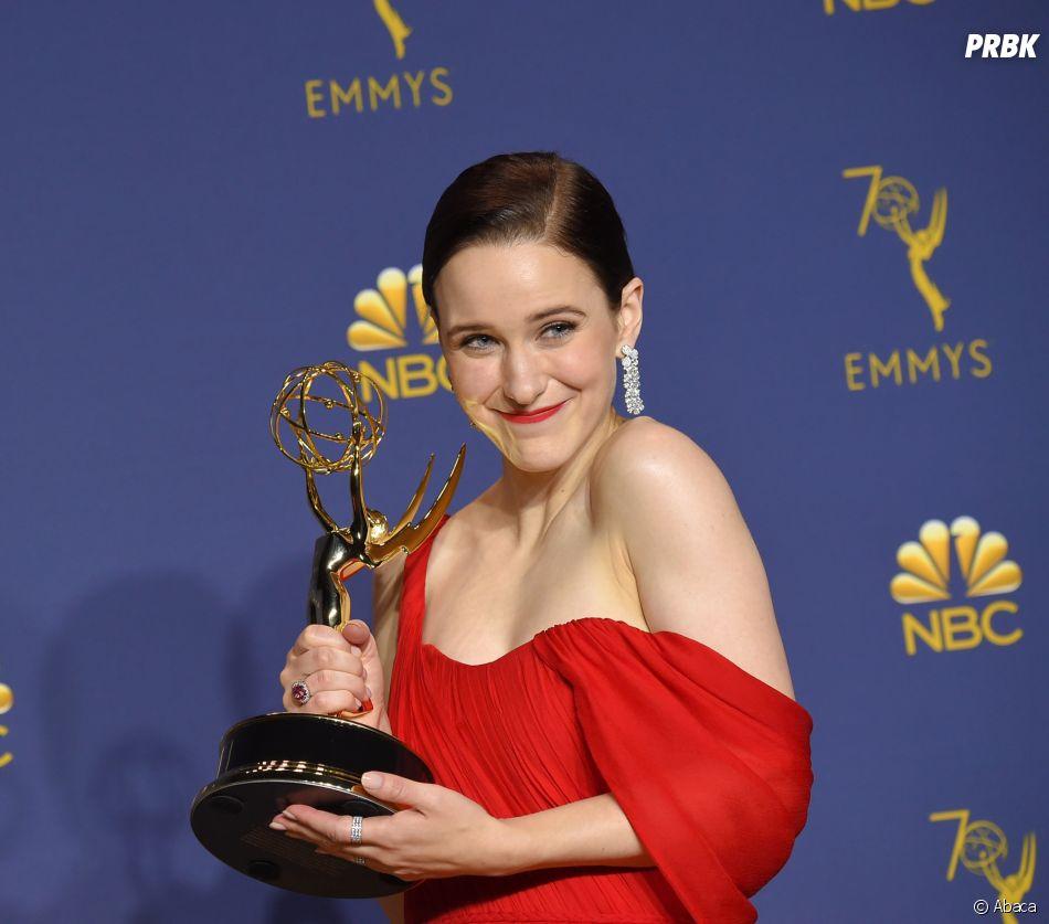 Rachel Broshanan gagnante aux Emmy Awards 2018 le 17 septembre à Los Angeles