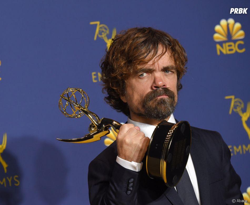 Peter Dinklage gagnant aux Emmy Awards 2018 le 17 septembre à Los Angeles