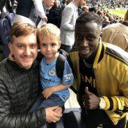 Benjamin Mendy fait vivre une journée de rêve à un supporter et son fils