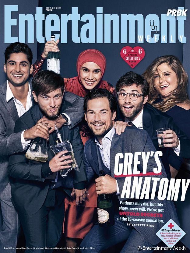 Grey's Anatomy saison 15 : la couverture spéciale avec les internes