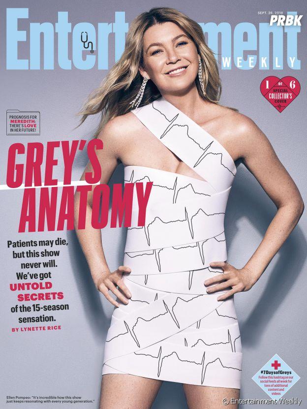 Grey's Anatomy saison 15 : la couverture spéciale avec Ellen Pompeo (Meredith)