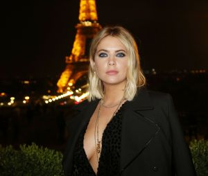 Ashley Benson (Pretty Little Liars), héroïne sexy de la soirée Privé Revaux x Krys au Café de l'Homme à Paris.
