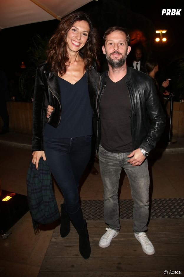 Doria Tillier et Nicolas Duvauchelle à la soirée Privé Revaux x Krys au Café de l'Homme à Paris.