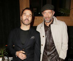 Jeremy Piven et Vincent Cassel à la soirée Privé Revaux x Krys au Café de l'Homme à Paris.