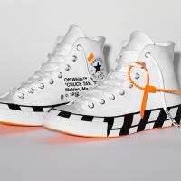 Off-White x Converse Chuck Taylor : prix, sortie... Tout ce qu'il faut savoir sur les sneakers