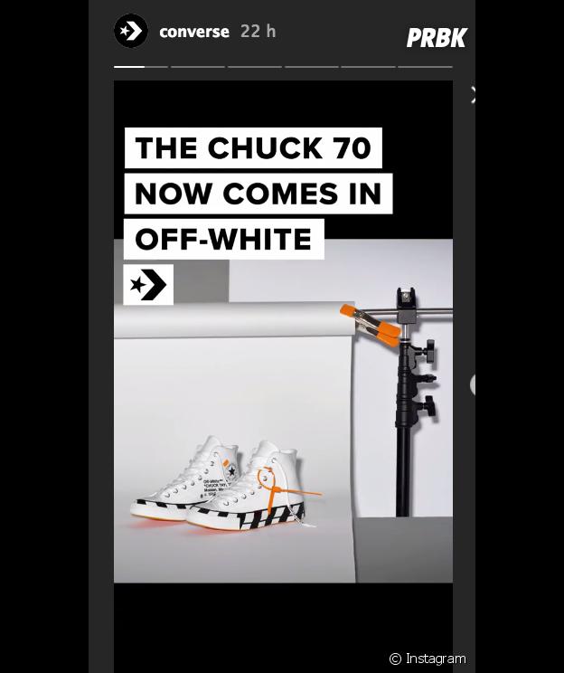 Off-White x Converse Chuck Taylor : prix, date de sortie... Tout ce qu'il faut savoir sur les nouvelles sneakers signées Virgil Abloh.