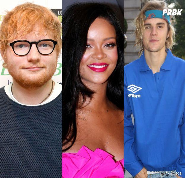Ed Sheeran, Rihanna, Justin Bieber... Pour ses 10 ans, Spotify dévoile les artistes les plus écoutés