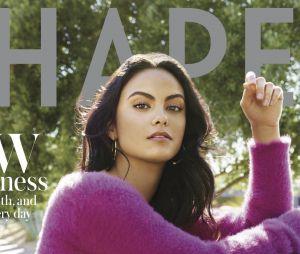 Camila Mendez en couv du magazine Shape de novembre 2018