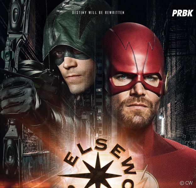 Arrow et The Flash vont... changer de costumes/pouvoirs dans le crossover !