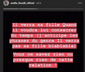 Emilie Fiorelli en dit plus sur sa rupture avec M'Baye Niang