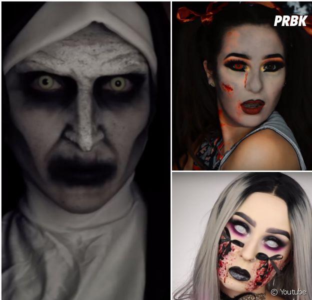Horia, Julie Ricci, Emmy MakeUp Pro... les youtubeuses partagent leurs maquillages d'Halloween