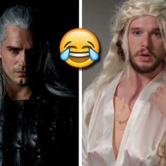 The Witcher (Netflix) : Henry Cavill se dévoile en Geralt, les fans se moquent