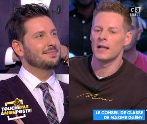 """Matthieu Delormeau dézingue Maxime Guény dans TPMP, trouvant qu'il n'est """"pas un bon chroniqueur""""."""
