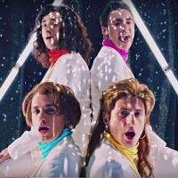 """Squeezie piège tout le monde avec le clip """"I Feel a Man"""" des Frenetics, boys-band des années 80"""