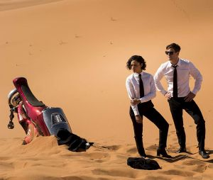 Men in Black 4 : Tessa Thompson et Chris Hemsworth sur une photo