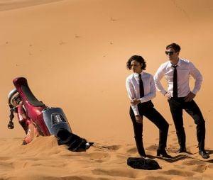Men in Black 4 : Tessa Thompson et Chris Hemsworth sur une photo