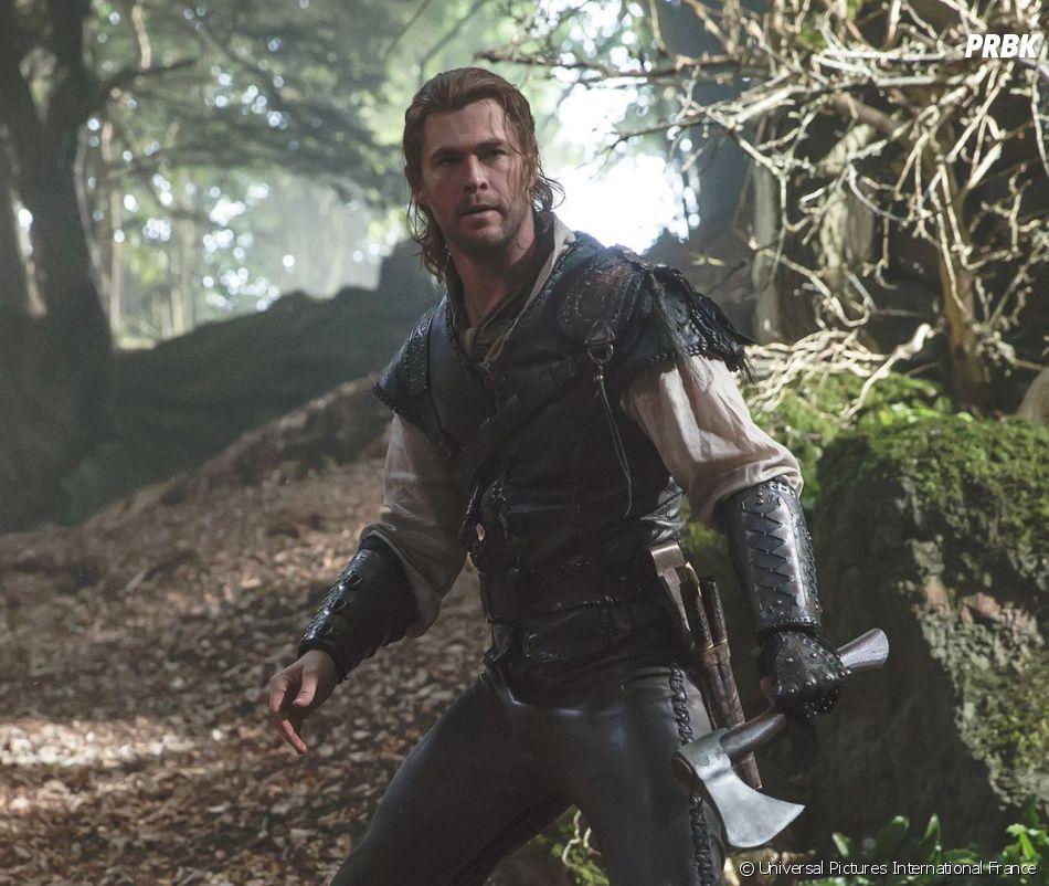 Chris Hemsworth dans Le Chasseur et la Reine des glaces