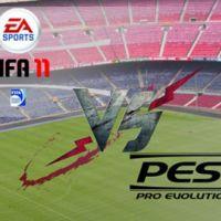 Photos ... FIFA 11 et PES 2011 ... toutes les jaquettes PS3, Xbox 360 et Wii