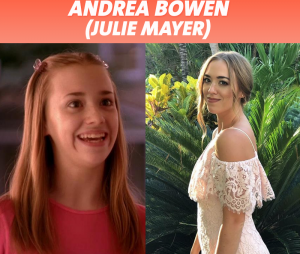 Desperate Housewives : Andrea Bowen au début de la série VS aujourd'hui
