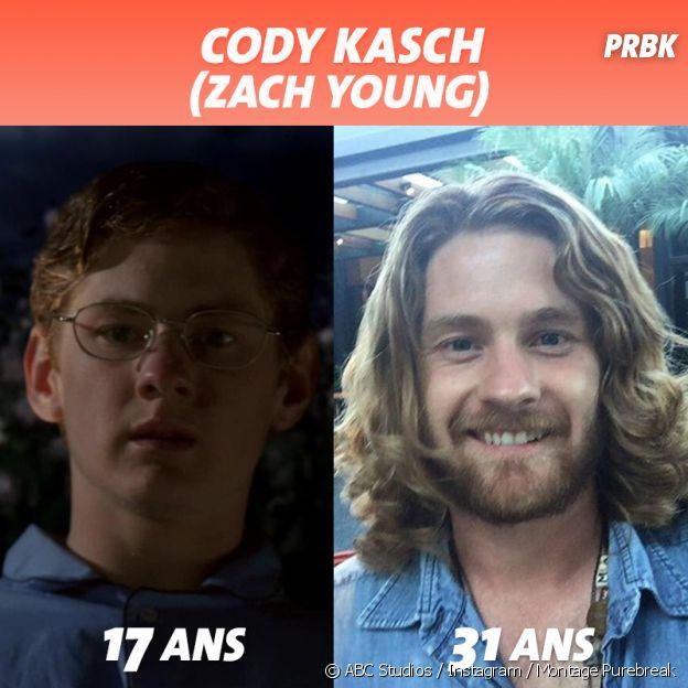 Desperate Housewives : Cody Kasch au début de la série VS aujourd'hui