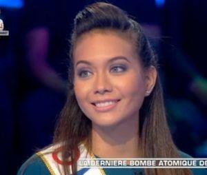 Vaimalama Chaves (Miss France 2019) pleine de répartie face à un Baffie charmé