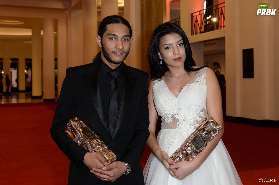 Dylan Robert et Kenza Fortas gagnant aux César 2019 le 22 février à Paris