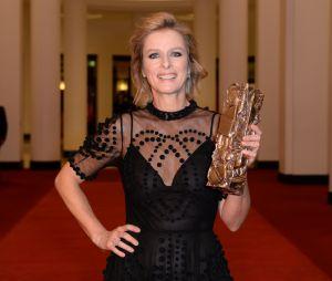 Karine Viard gagnante aux César 2019 le 22 février à Paris