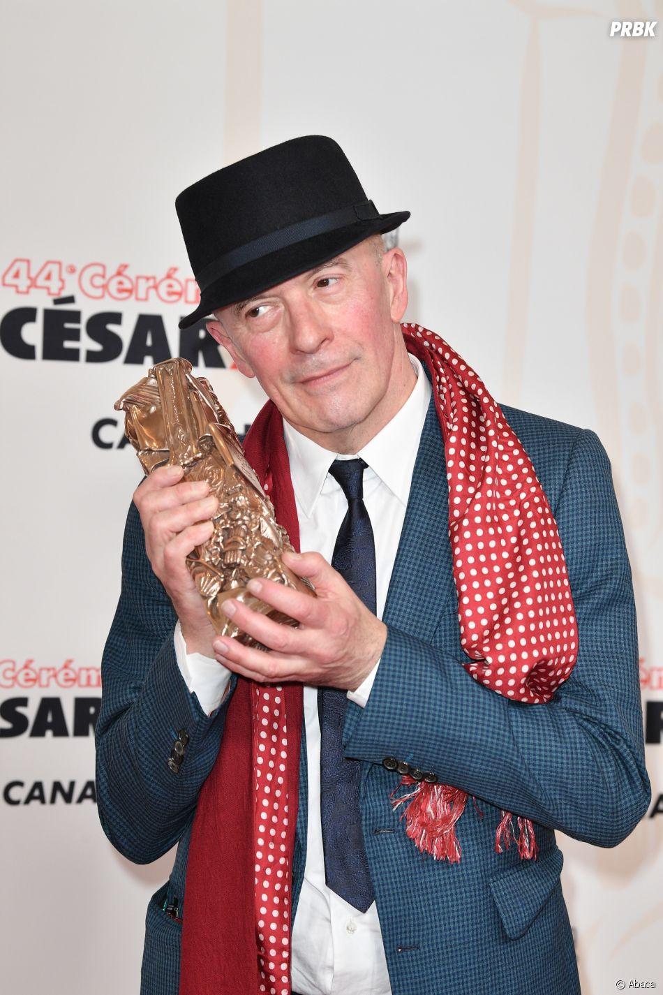 Jacques Audiard gagnant aux César 2019 le 22 février à Paris