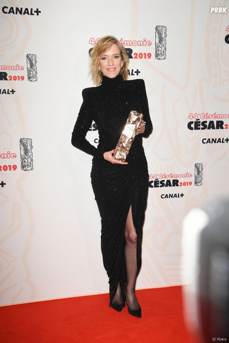 Léa Drucker gagnante aux César 2019 le 22 février à Paris