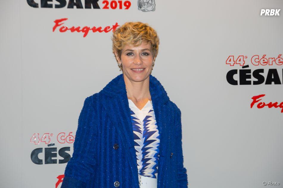 Cécile de France sur le tapis rouge des César 2019 le 22 février à Paris